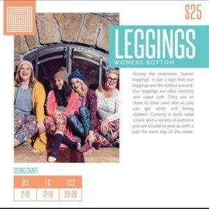 LuLaRoe Pants - NWT OS Leggings {LuLaRoe}